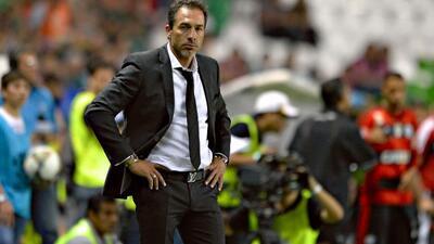 Gustavo Matosas, director técnico del León.