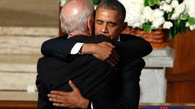 Familia Obama da sus condolencias a la familia Biden