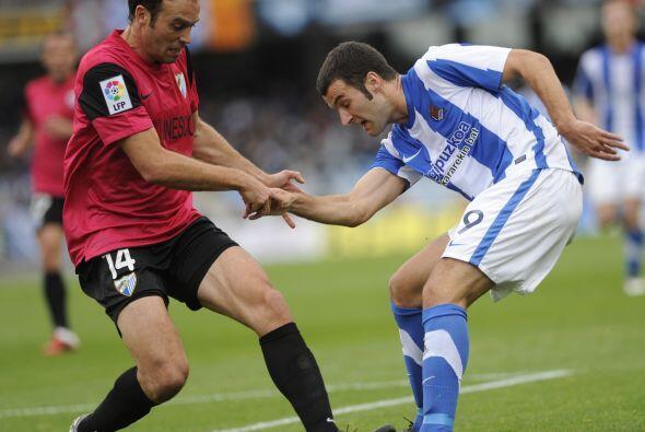 La Real Sociedad y el Málaga dieron uno de los duelos más intensos de la...