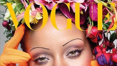 Las cejas de Rihanna al estilo de los años veinte provocaron polémica (y hasta susto)
