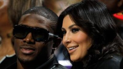 Kim Kardashian fue vista en compañía de su ex pareja Reggie Bush en un h...