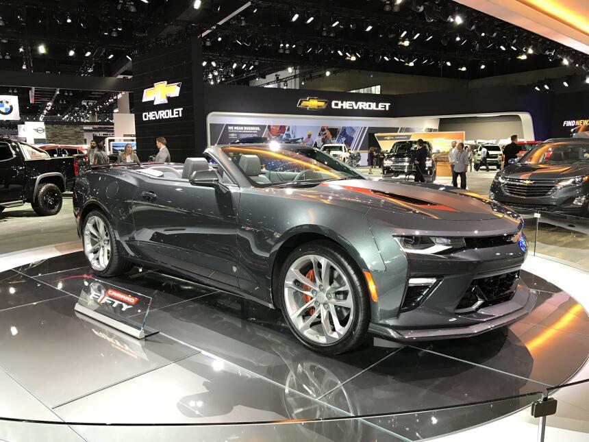 El mundo del motor se mudó al Auto Show de Los Angeles IMG_0523.jpg