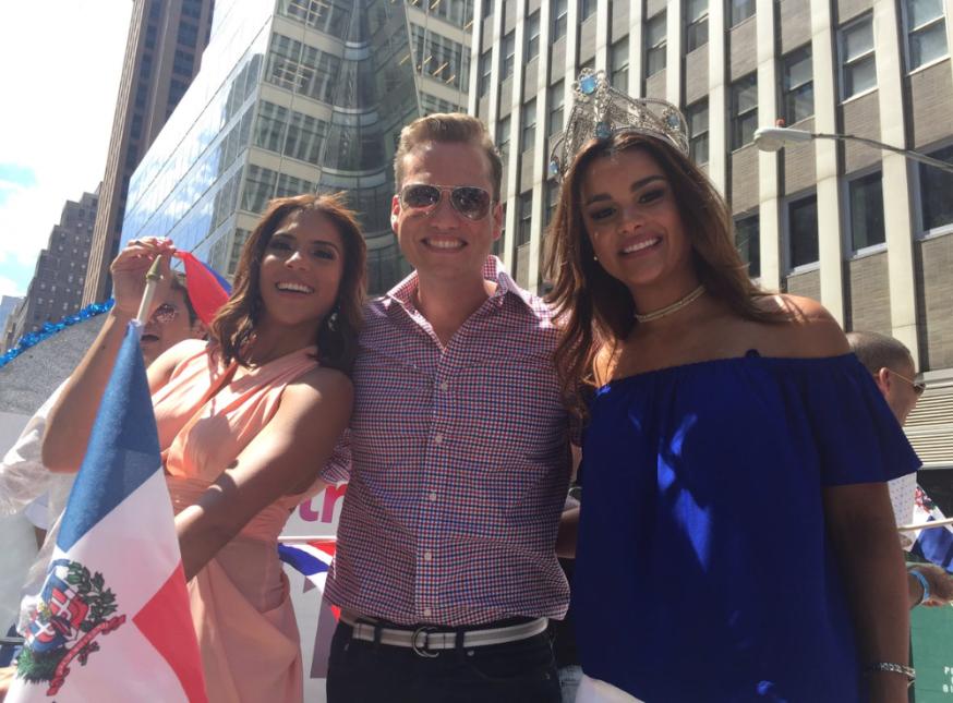 Orgullos de Quisqueya Francisca Lachapel, Rafael Bello y Clarissa Molina.