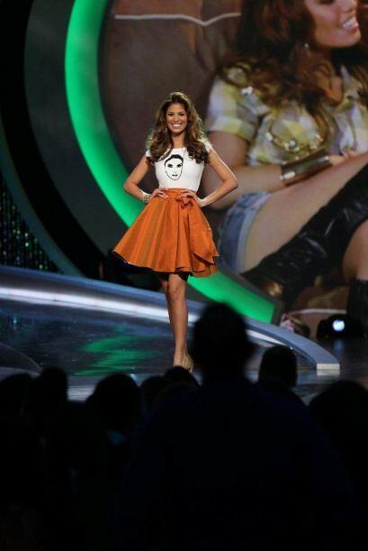 Essined Aponte, finalista de Nuestra Belleza Latina 2013