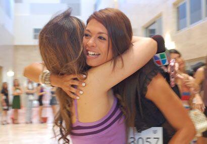 Melissa se encontró con esta chica, quien hace un año estaba formada det...