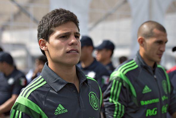 Alfonso González espera poder tener minutos de calidad con el Tri...