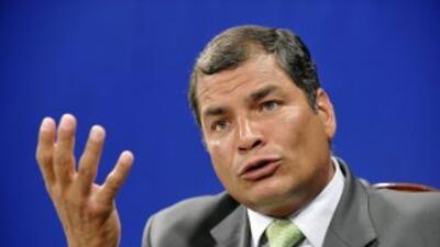 El presidente Rafael Correa se prepara para la contienda electoral del 2...