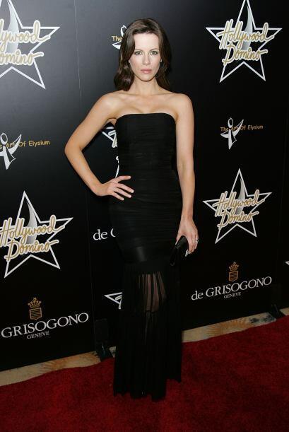 Kate Beckinsale es otra de las famosas que no pudo resistirse al encanto...