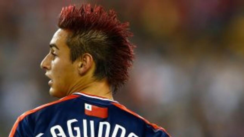 El delantero uruguayo Diego Fagúndez del Revolution fue nombrado Jugador...