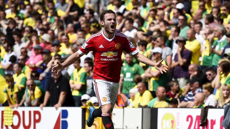 Juan Mata anotó el único gol del encuentro.