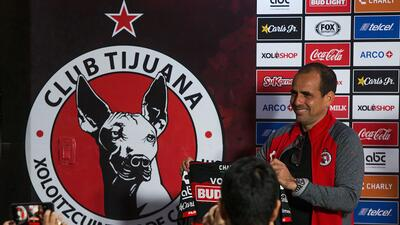 En fotos: así fue la presentación de Óscar Pareja como nuevo técnico de Xolos de Tijuana