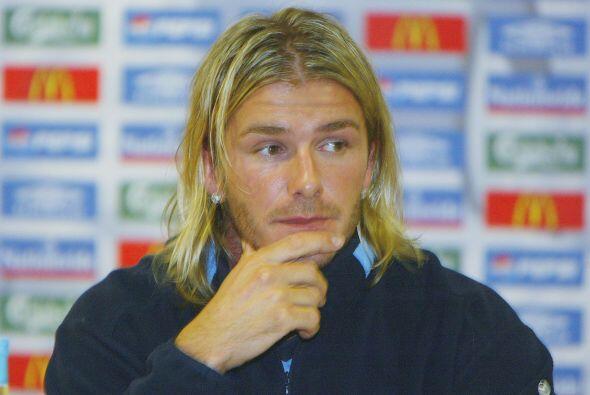 Pasarían unos años en los que David se dejaría crecer el cabello, lucien...