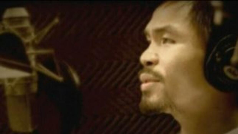 Manny Pacquiao cantante