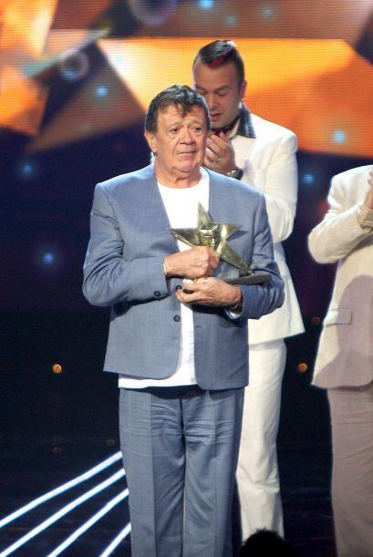 Chabelo se llevó un Premio TVyNovelas en 2012.