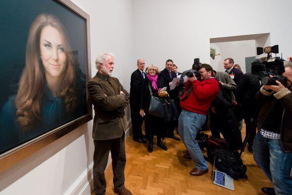 11 de enero de 2013  Los duques asisten a la National Portrait Gallery d...