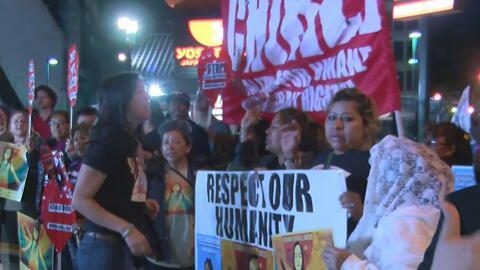 Organizaciones se unen para reivindicar derechos en las marchas del prim...