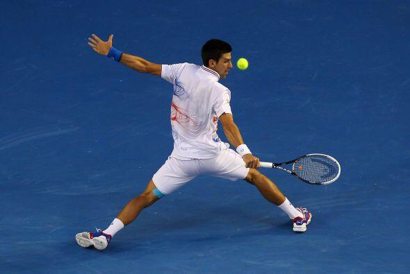 Suma además 21 partidos sin perder en torneos de Grand Slam (su última d...