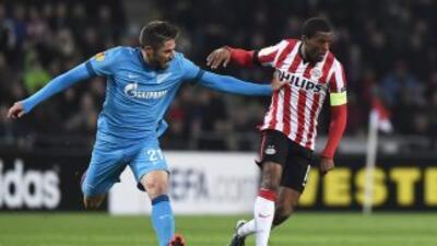 El Zenit ganó en Holanda en el hogar del PSV.