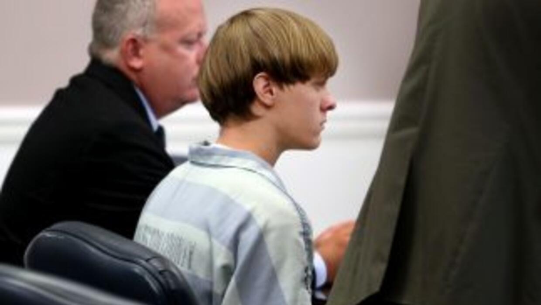 Dylann Roof, de 21 años, acusado de haber matado a nueve parroquianos.