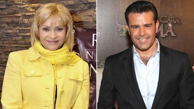 Rocío Banquells y Eduardo Capetillo