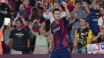 El padre de Messi, espera que su hijo herede las cualidadesdel delantero.