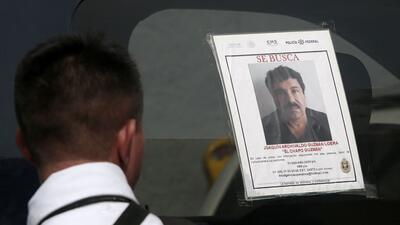 El narcotraficante Joaquín 'El Chapo' Guzmán fue extraditado a E...