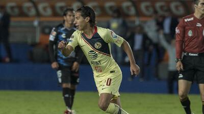En fotos: La fiesta del América y de Diego Lainez en el Estadio Hidalgo