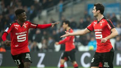 El Stade Rennais acentúa la crisis del Marsella clavándole un 5-2 en la Ligue 1