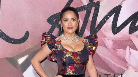 Salma en los British Fashion Awards 2016