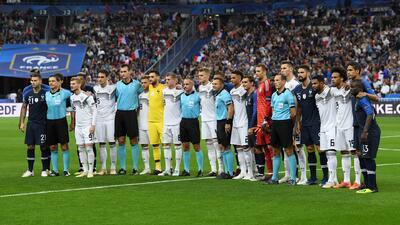 El campeón del mundo aplastó el poder teutón: el color del Francia 2-1 Alemania