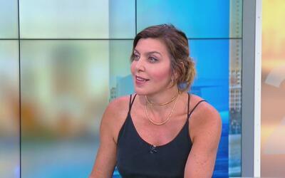 La colombiana Isabella Santodomingo llegó a Miami para presentar su obra...