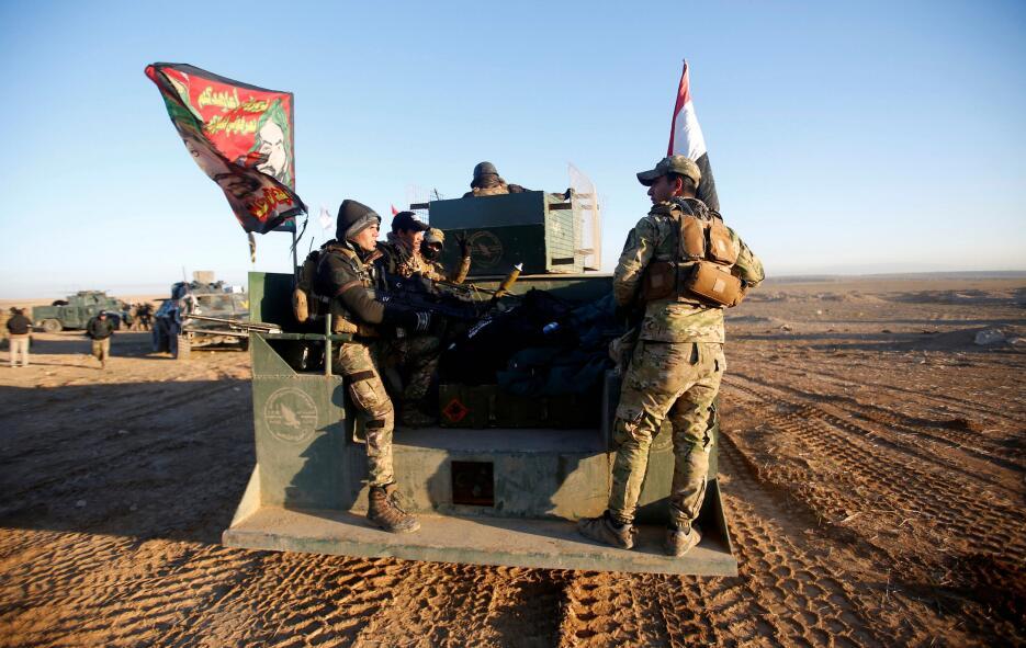 En fotos: Irak lanza una gran operación militar por aire y tierra contra...