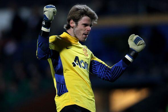 David De Gea del Manchester United. El arquero español ya ha sido vincul...
