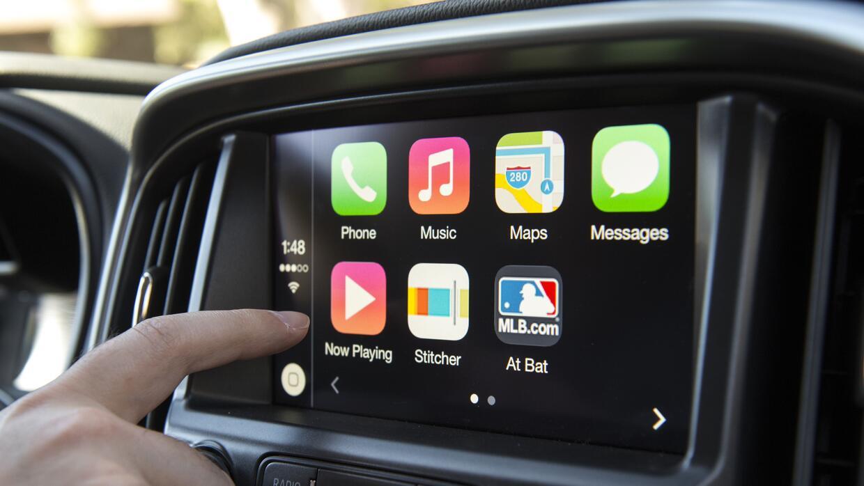 El manejo de Apple CarPlay es más intuitivo