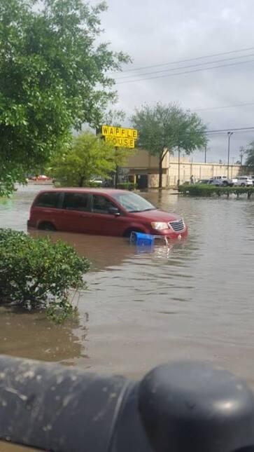 Destrozos causados por el mal tiempo en Houston