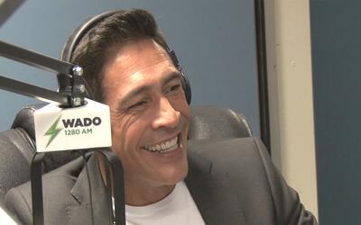 Johnny Lozada visita a Coco Cabrera en Nueva York