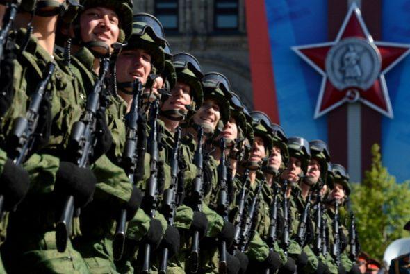 Rusia recuerda los tiempos del poder militar soviético.