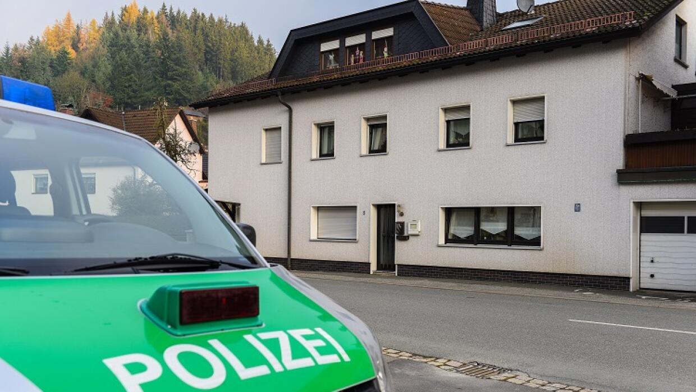 Casa en Alemania donde encontraron siete bebés muertos.
