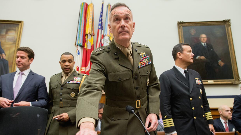 General Joe Dunford, jefe del Estado Mayor Conjunto de EEUU