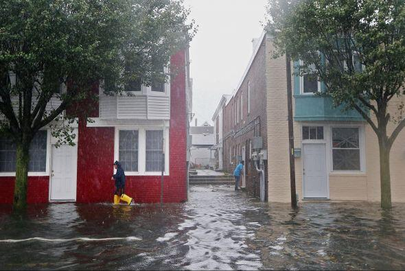 Se teme que la tormenta afecte al noreste del país por un mínimo de 48 h...