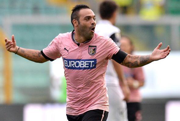 El italiano es el estandarte del Palermo y lo demostró en el cotejo ante...