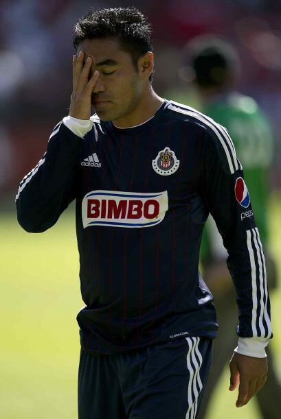 De esta manera Fabián se convirtió en el referente ofensivo de Chivas pe...