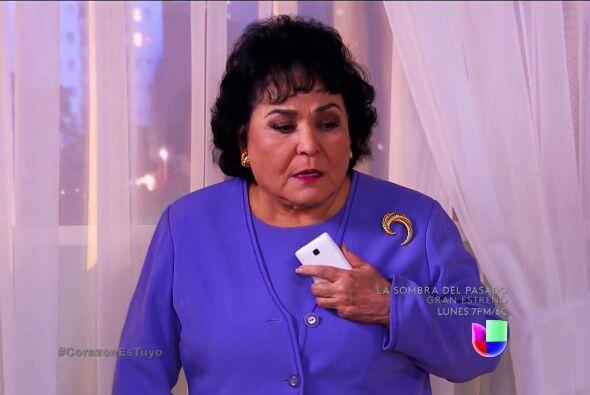 No nos gusta verla tan angustiada doña Yolanda.