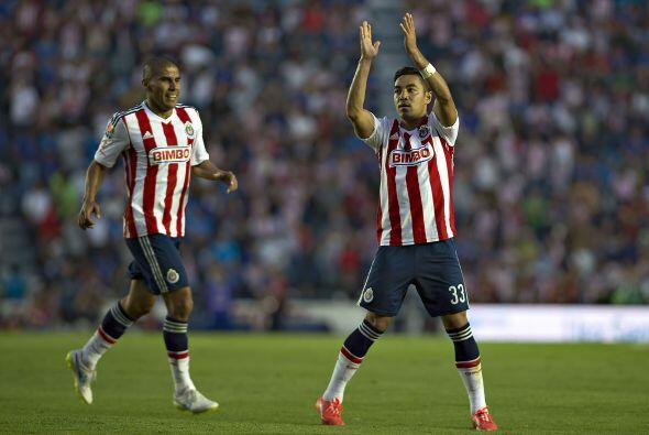 Contra Cruz Azul Marco Fabián anotó el gol de la diferencia en un gran t...