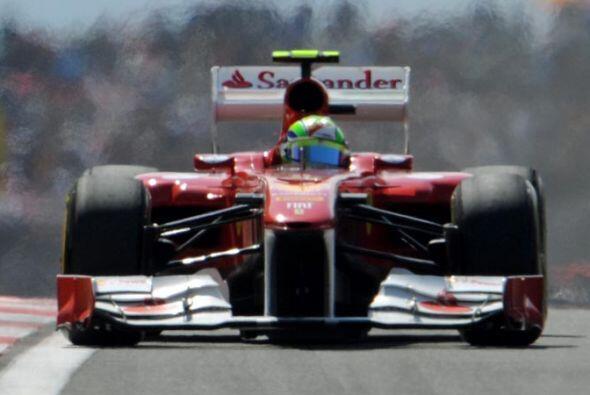Alonso se tuvo que conformar con el tercer puesto, lo que representó su...