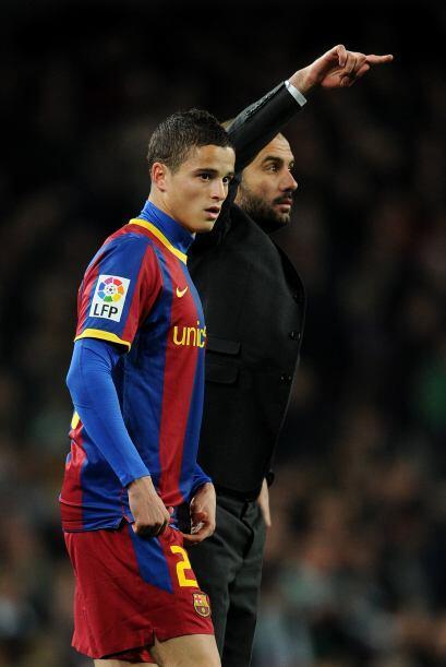 Josep Guardiola hizo cambios como el ingreso de Ibrahim Afellay para gan...
