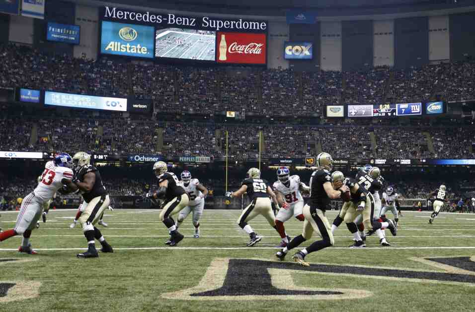 Los New Orleans Saints vencieron 52-49 a los New York Giants en partido...