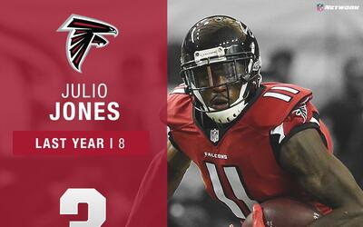 #3: Julio Jones (WR, Falcons) | Top 100 Jugadores 2017