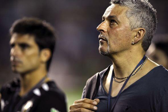Roberto Baggio también estuvo presente en este partido homenaje.