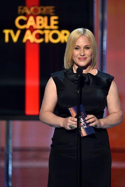 Patricia Arquette de 'Boyhood' anunció la terna de Actor favorito en TV...